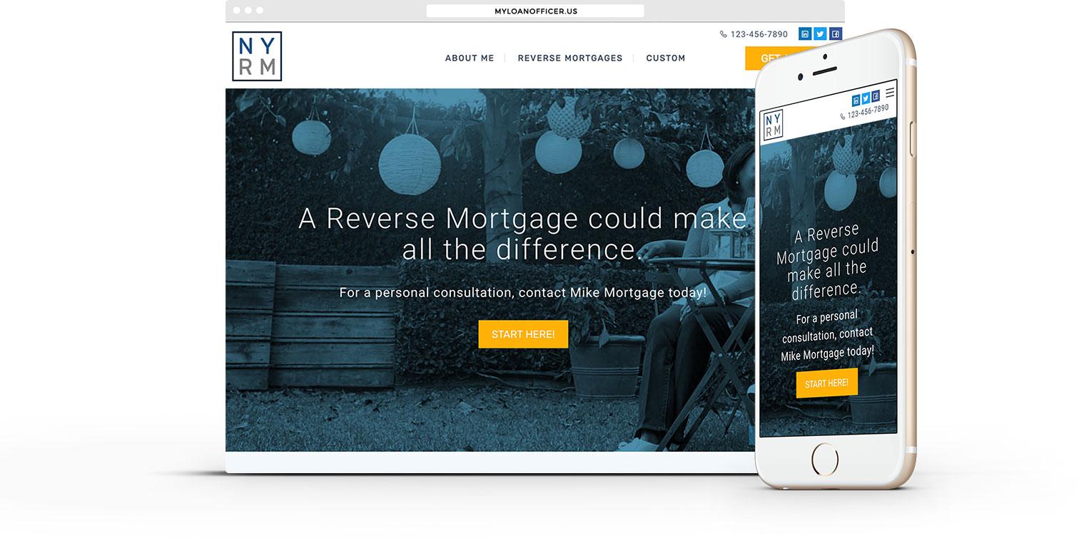 Mortgage Websites Reverse Focus